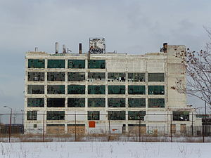 Rust Belt - Image: Fisher Body plant 21