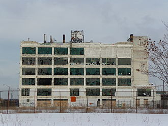 Rust Belt - An abandoned Fisher auto body plant in Detroit