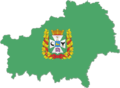 Flag-map of Gomel Region.png