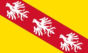 Gauliga Südwest/Mainhessen - Image: Flag fr lorraine 300px