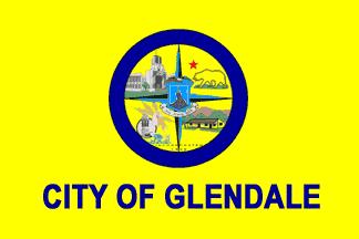 Flag of Glendale, California