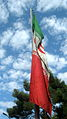 Flag of Iran in the Nishapur Railway Station square 15.JPG