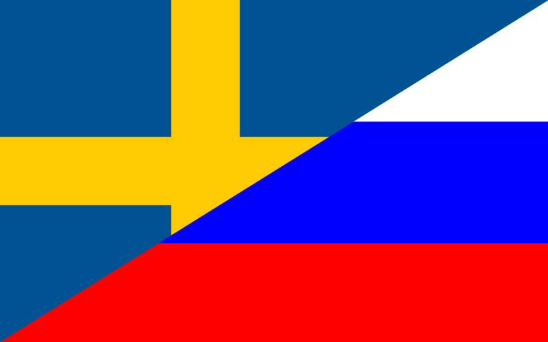 File:Flag of Sweden and Russia.png