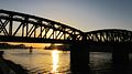 Flickr - HuTect ShOts - Train Bridge with Nile River - El.Mansoura - Egypt - 04 04 2010 (1).jpg