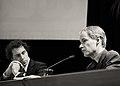 Flickr - NewsPhoto! - politici in zwart-wit, Martijn van Dam (PvdA) ^ Harry van Bommel (SP).jpg