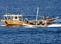 Flickr - Official U.S. Navy Imagery - Members of the visit, board, search and seizure team respond to the disabled Yemeni fishing dhow Nahda..jpg