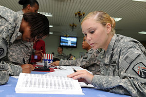 Flickr - The U.S. Army - Soldiers help voters ...