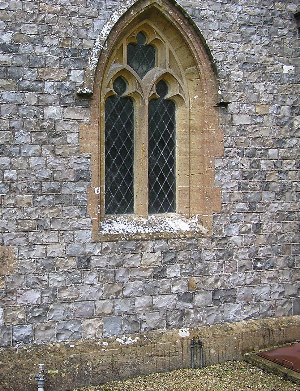 Flint church in england arp