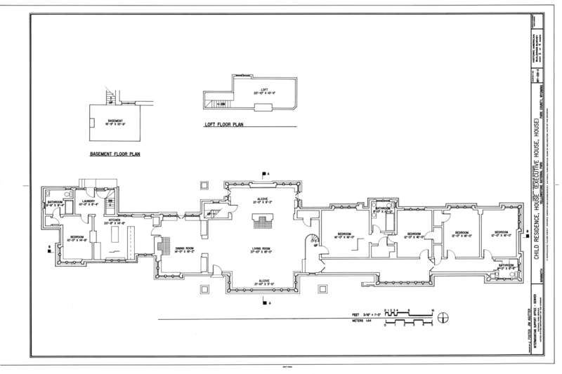 File:Floor Plans   Child Residence, House, Southwest Of Nichol Residence  And South