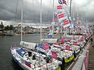 Flotte Solitaire du Figaro 2012 à Paimpol 2.JPG