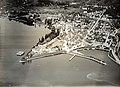 Flugbild von Walter Mittelholzer aus dem Jahr 1919, früheste Flugaufnahme von Rapperswil - Stadtmuseum Rapperswil - 'Stadt in Sicht 2013-10-05 16-29-54 (P77000).JPG