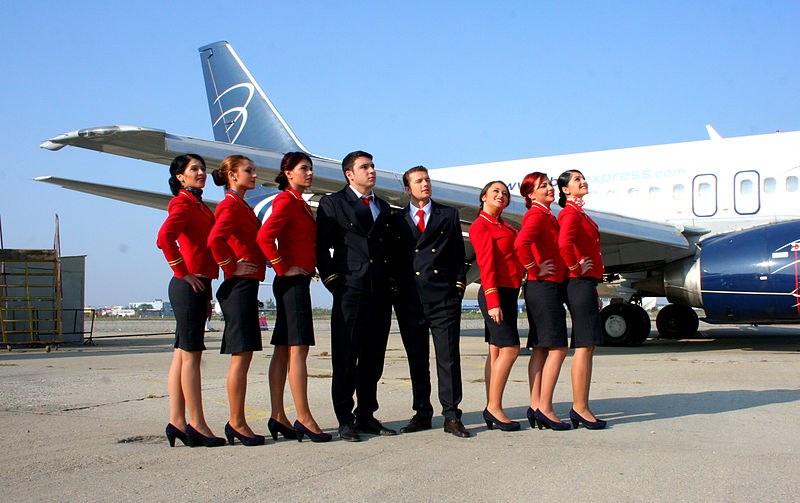 File:Fly Level's Cabin Crew Students.jpg