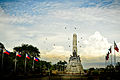 Flying Free at Rizal Monument.jpg