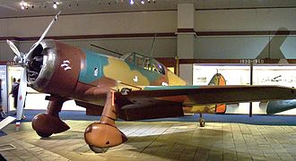 Royal Netherlands Air Force - Fokker D.XXI at the Air Force Museum in Soesterberg.