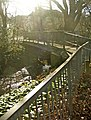Footbridge over the Houndsden Gutter between Nestor Avenue and Deepdene Court, N21 - geograph.org.uk - 328443.jpg
