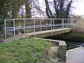 Footbridge over the ford, Marlesford - geograph.org.uk - 1182481.jpg