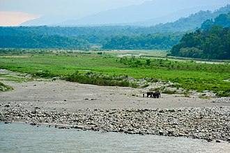 Foothills of the Himalayas seen from the Manas National Park, Assam Foothills of the Himalayas seen from Manas National Park.jpg