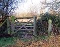 Footpath gate, Draycote (2) - geograph.org.uk - 1127221.jpg