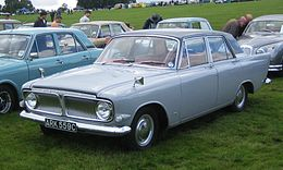 Una Ford Zephyr 6 Mark III del 1965