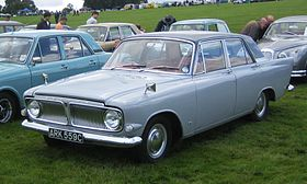Ford Zephyr 6 License plate 1965.jpg