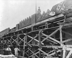 Shoppers World Danforth - The Ford Motor Company plant under construction in 1921