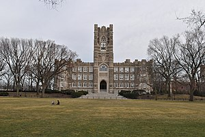 The Exorcist (film) - Several scenes were shot in the basement of Keating Hall at Fordham University in the Bronx