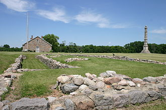 Fort Ridgely - Building remains at Fort Ridgely, Minnesota.