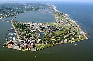 Fort Monroe fortress