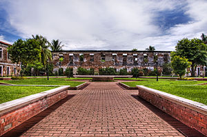 Fort Pilar - The Courtyard of Fort Pilar