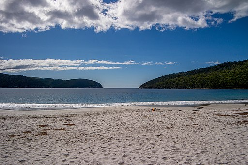 Fortescue Bay at midday