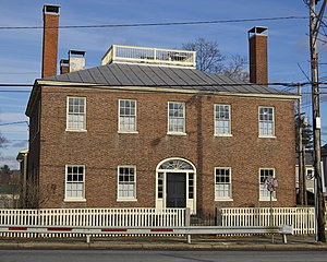 Fowler House (Danvers, Massachusetts) - Fowler House at 166 High Street, Danvers, MA.