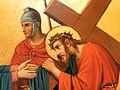 Fr Pfettisheim Chemin de croix station IV Christ detail.jpg