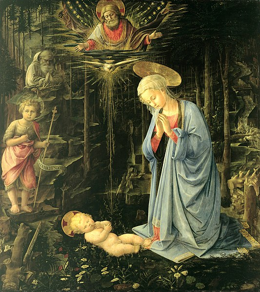 File:Fra Filippo Lippi - The Adoration in the Forest - Google Art Project.jpg