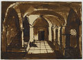 François Granet - View of a Cloister - Walters 372787.jpg