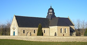 Chouain - The church in Chouain