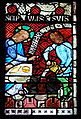 France Niederhaslach Marriage at Cana stained glass window - Christ detail.jpg