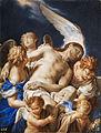 Francesco Trevisani (attr) Engel tragen den Leichnam Christi.jpg