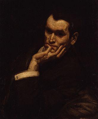 Francis Derwent Wood - A 1906 portrait of Francis Derwent Wood by George Washington Lambert