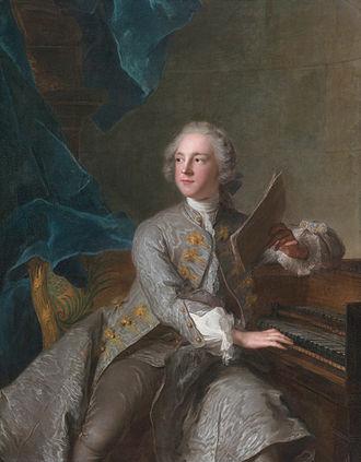 Francis Greville, 1st Earl of Warwick - Francis Greville, Baron Brooke, later 1st Earl of Warwick (1719-1773) (Jean-Marc Nattier, 1741)