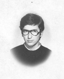 Grillini nel 1973, a diciotto anni