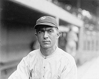 $100,000 infield - Frank Baker, the $100,000 infield's third baseman