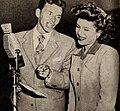 Frank Sinatra with Eileen Barton, 1945.jpg