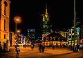 Frankfurt, Hauptwache, im Hintergrund der Commerzbank Tower (14137855504).jpg