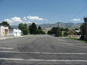 Franklin, Idaho - Street Scene in Franklin