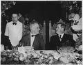 Franklin D. Roosevelt and Mexican President Avila Camacho in Monterrey, Mexico - NARA - 196076.tif