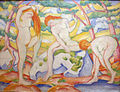 Franz Marc - bathing girls - 1910.JPG
