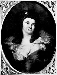 Schwester Charlotte Kanitz im Jahre 1791, Schriftstellerin (Quelle: Wikimedia)