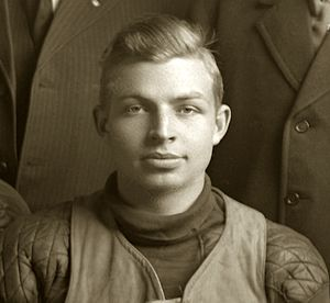 1911 Michigan Wolverines football team - Team captain Frederick L. Conklin