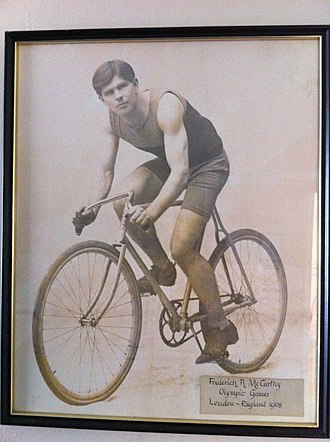 Frederick McCarthy - Frederick R McCarthy 1908 Olympic Games