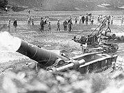 French Heavy Mortar 1916 AWM H04494